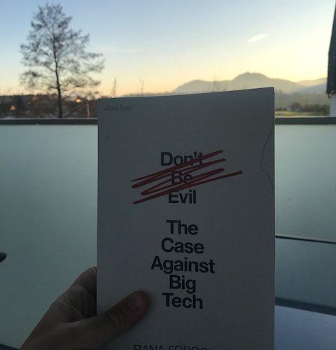 Big tech and data